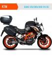 PACK-Alforjas-moto-semirrigidas-Shad-E48+Fijaciones-DUKE-125/200/390-(14-15)