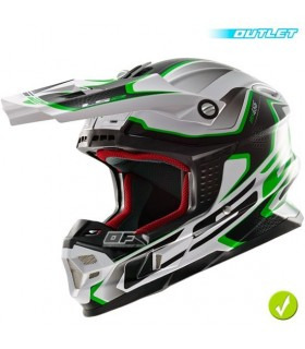 Casco LS2 MX456 COMPASS Verde