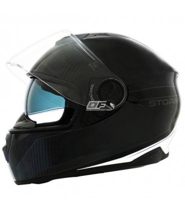 talla XL negro color blanco Stormer casco integral versus Strip