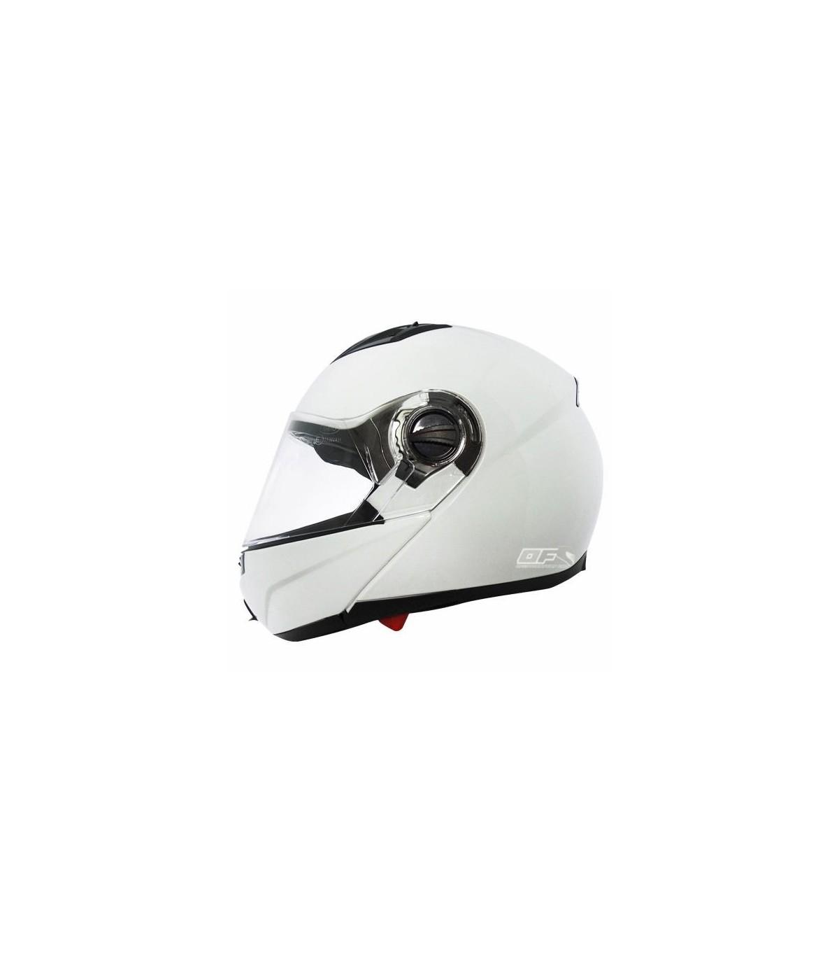 8e25d995 Casco Shiro SH-500 BIKER Monocolor Blanco