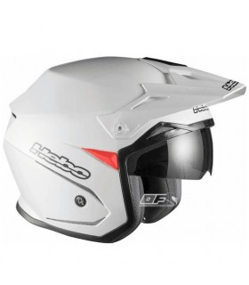 Casco moto Hebo Zone 5 Monocolor Blanco