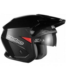 Casco moto Hebo Zone 5 Monocolor Negro