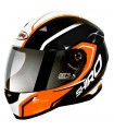 Casco Shiro SH-881 MOTEGI Naranja