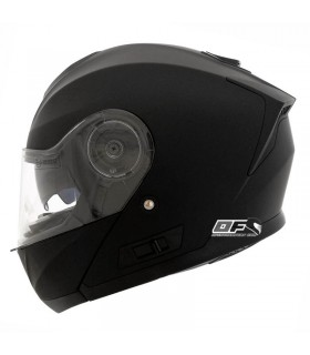 Casco Shiro SH-507 Casco Modular Monocolor  Negro Mate