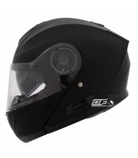 Casco Shiro SH-507 Casco Modular Monocolor  Negro Mate