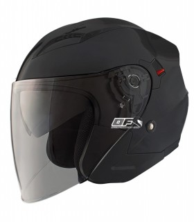 Casco Jet SHIRO SH-450 TOUR Negro Mate