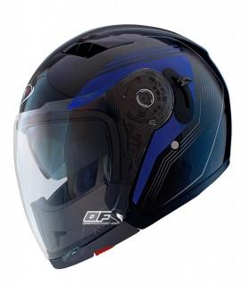 9246b119015 Casco moto Shiro SH-414 SOUL Azul
