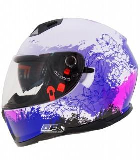 Shiro no trae el ya conocido casco sh881 ahora con la grafica Enjoy SV version mejorada con mas color y dotado de gafa solar