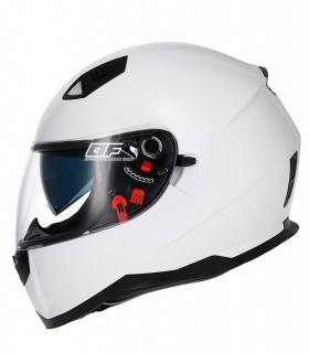 Shiro 881  SV Blanco con Gafa Solar Monocolor Casco MOTO SHIRO