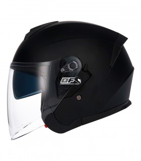 Casco Jet SHIRO SH-451 Negro Mate. Nuevo 451 de shiro helmets