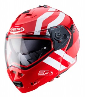 Casco CABERG DUKE 2 SuperLegend Rojo Blanco