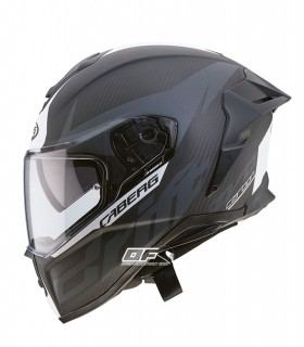 Casco CABERG Drift Evo Carbon ANTRACITA MATE / BLANCO