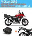 Alforjas Shad semirrígidas E48 + Soporte Honda CBR500R / CB500X/F (16-21)
